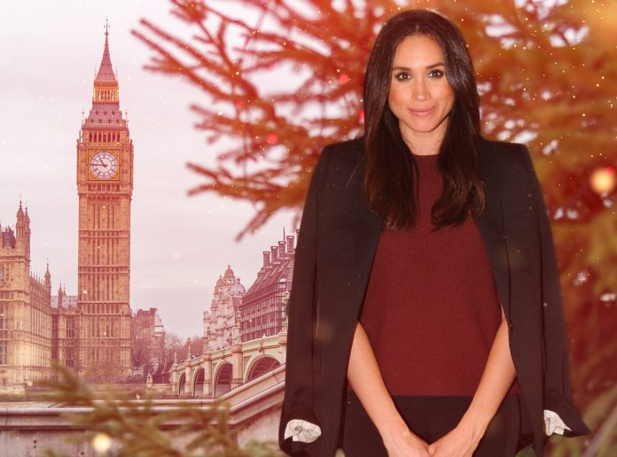 Meghan Markle, Christmas London