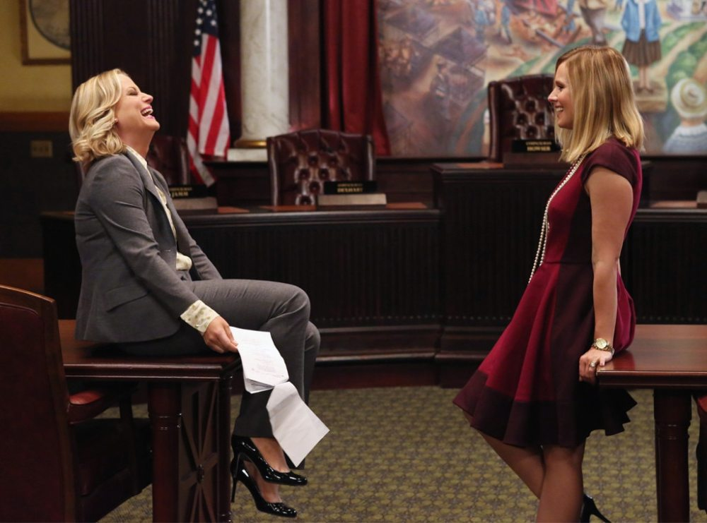 Amy Poehler, Kristen Bell, Parks and Rec
