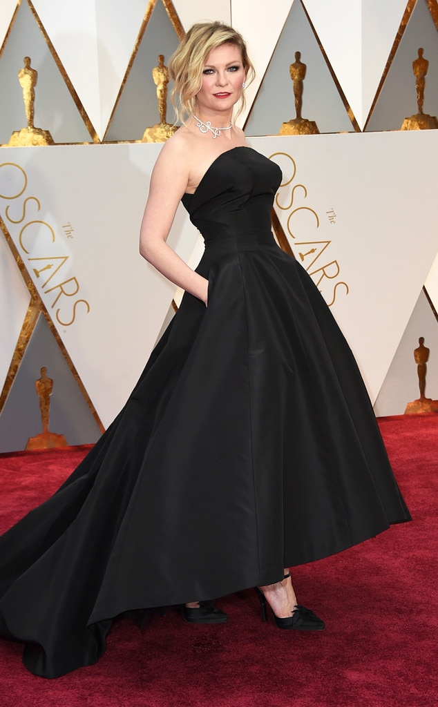 Image result for oscars fashion 2017 Kirsten