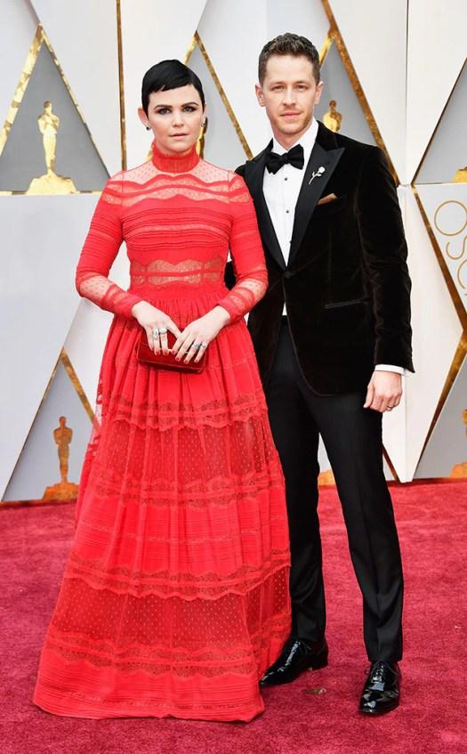 Ginnifer Goodwin, Josh Dallas, 2017 Oscars, Academy Awards, Couples