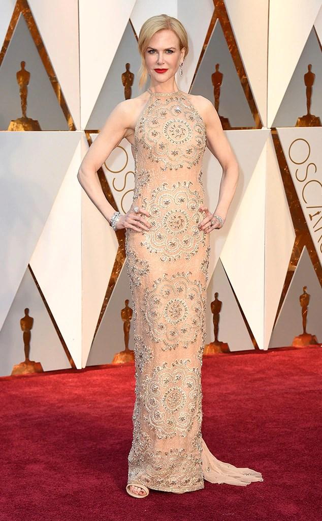 Oscars 2017 Red Carpet Arrivals Nicole Kidman, 2017 Oscars, Academy Awards, Arrivals