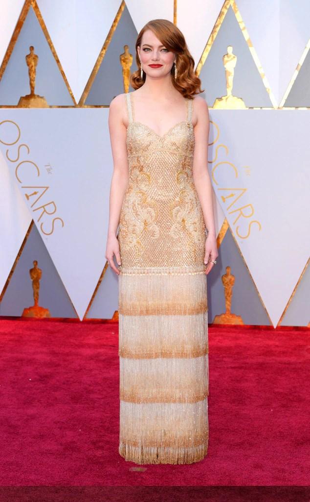 Oscars 2017 Red Carpet Arrivals Emma Stone, 2017 Oscars, Academy Awards, Arrivals