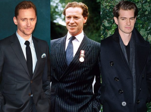 Feud: Charles and Diana, Tom Hiddleston, James Hewitt, Andrew Garfield