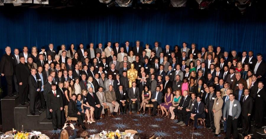 Oscar Luncheon, Class Photo 2012