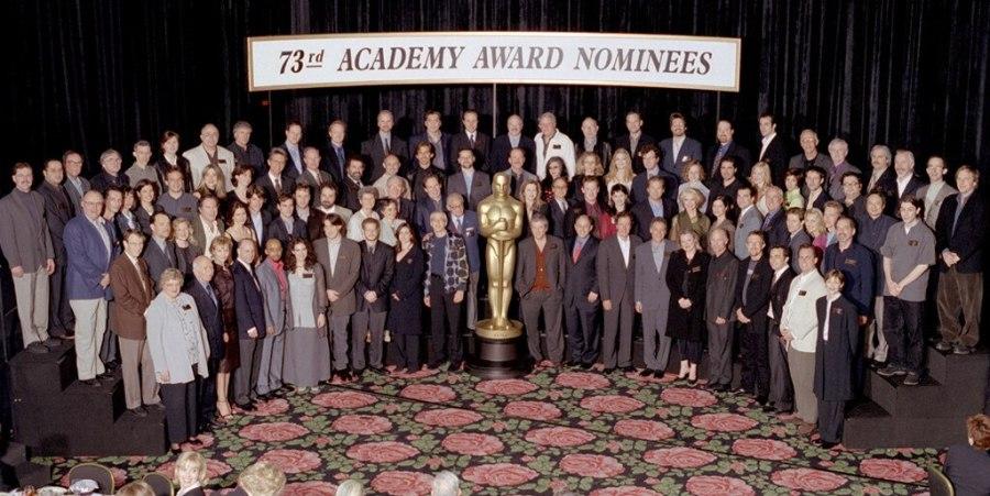 Oscar Luncheon, Class Photo 2001