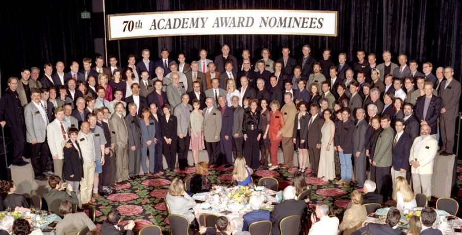 Oscar Luncheon, Class Photo 1998