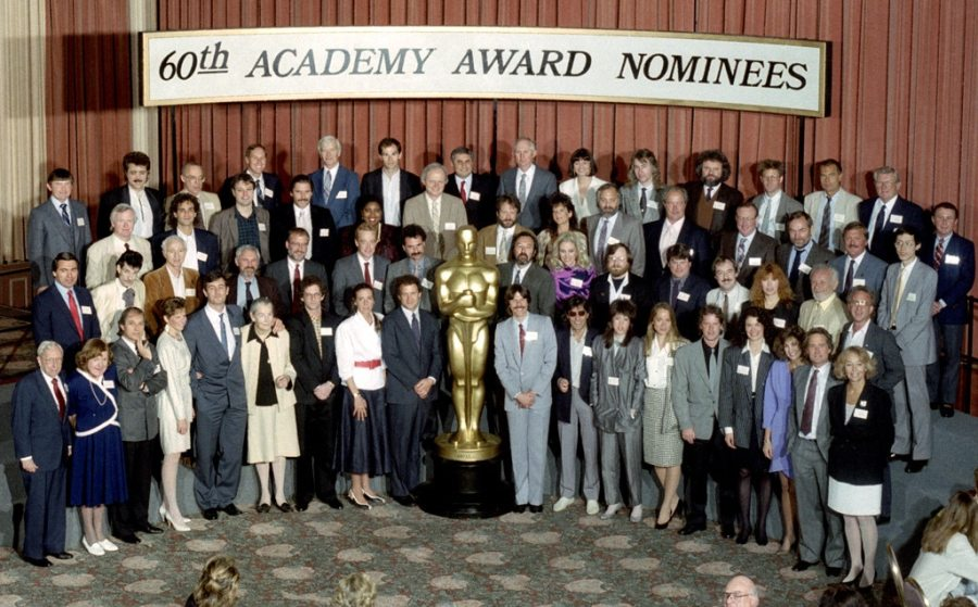 Oscar Luncheon, Class Photo 1988