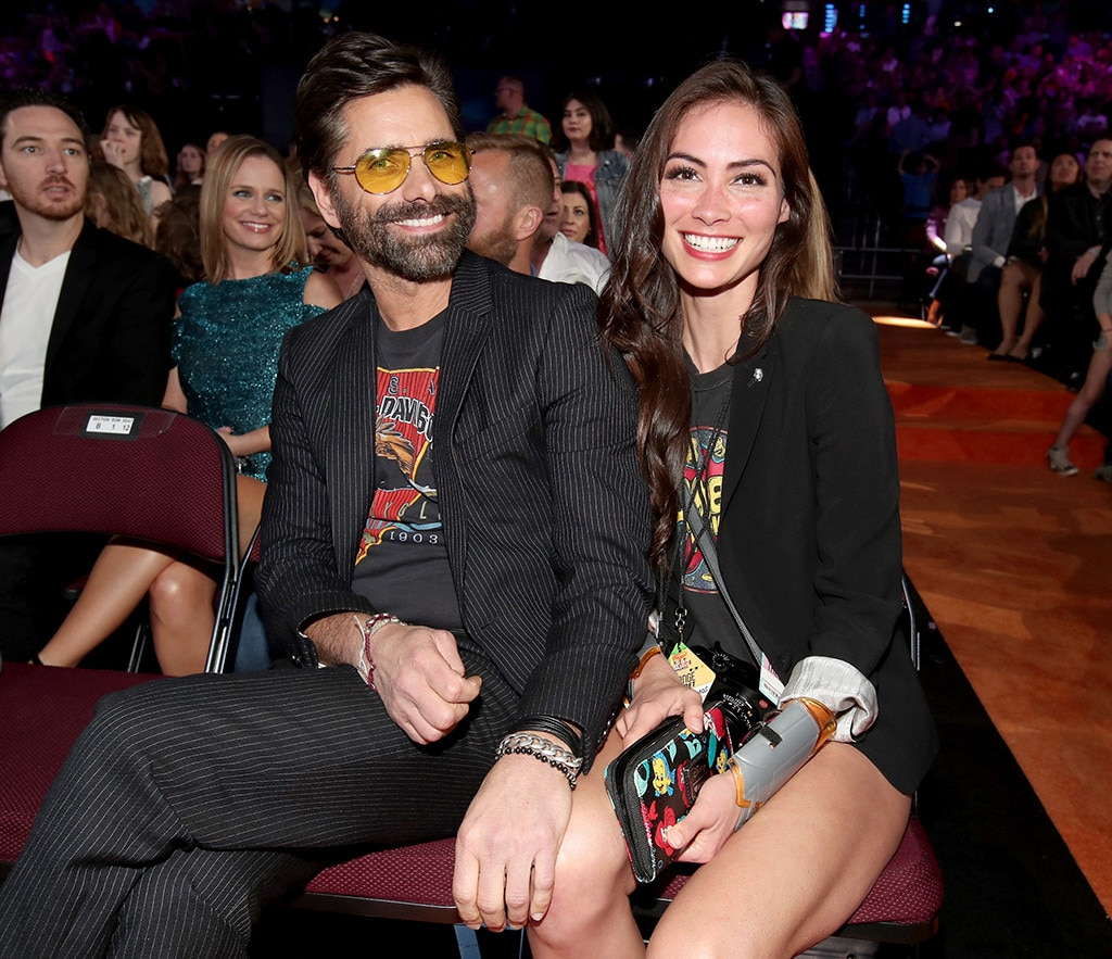 John Stamos, Caitlin McHugh, 2017 Kids Choice Awards, Candids