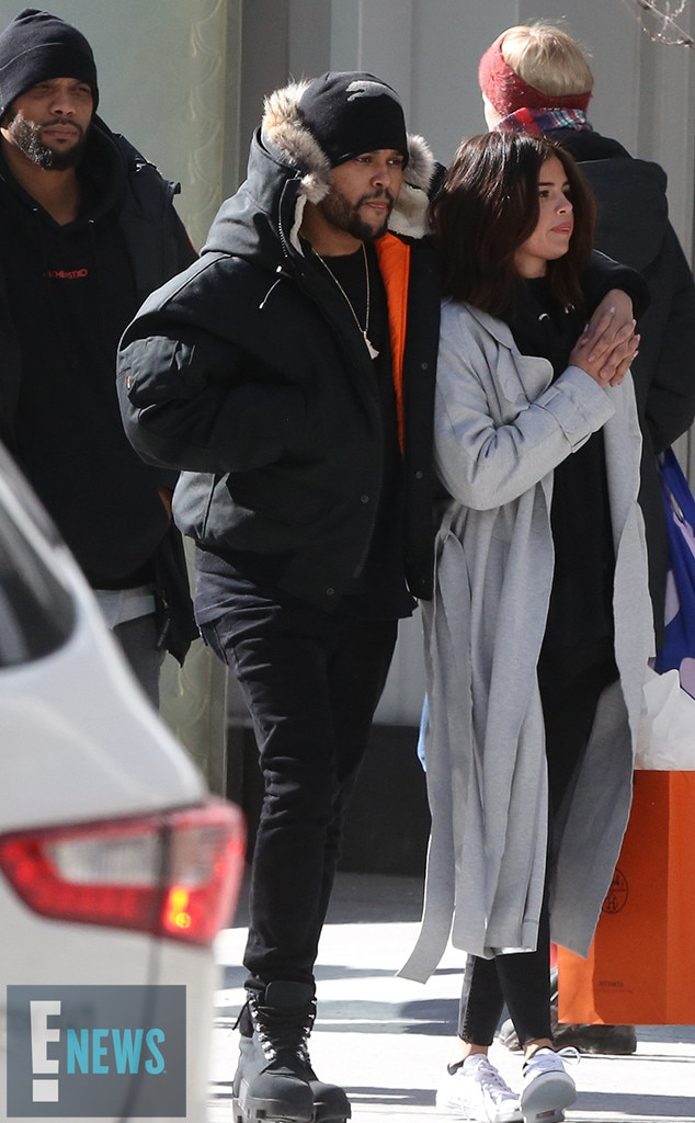 Selena Gomez, The Weeknd