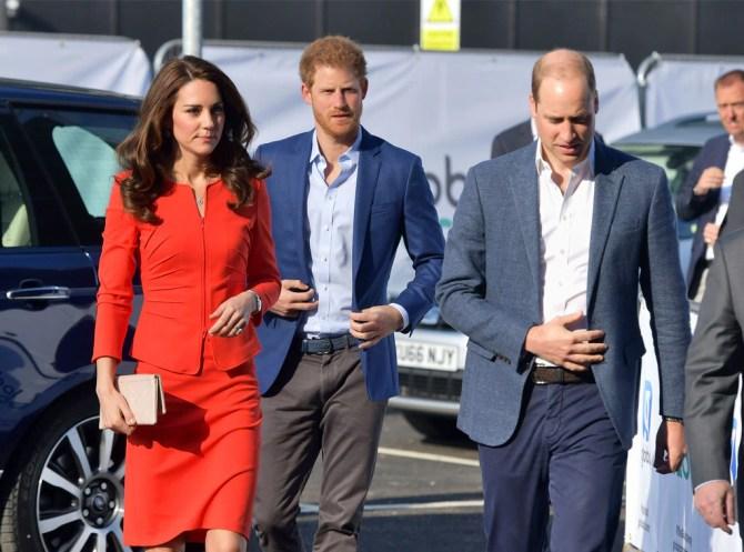 Prince William, Kate Duchess of Cambridge, Kate Middleton, Prince Harry