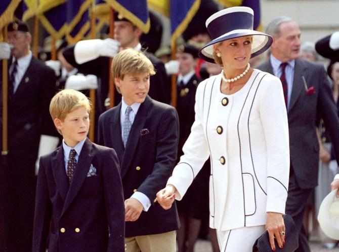 Prince William, Princess Diana, Prince Harry