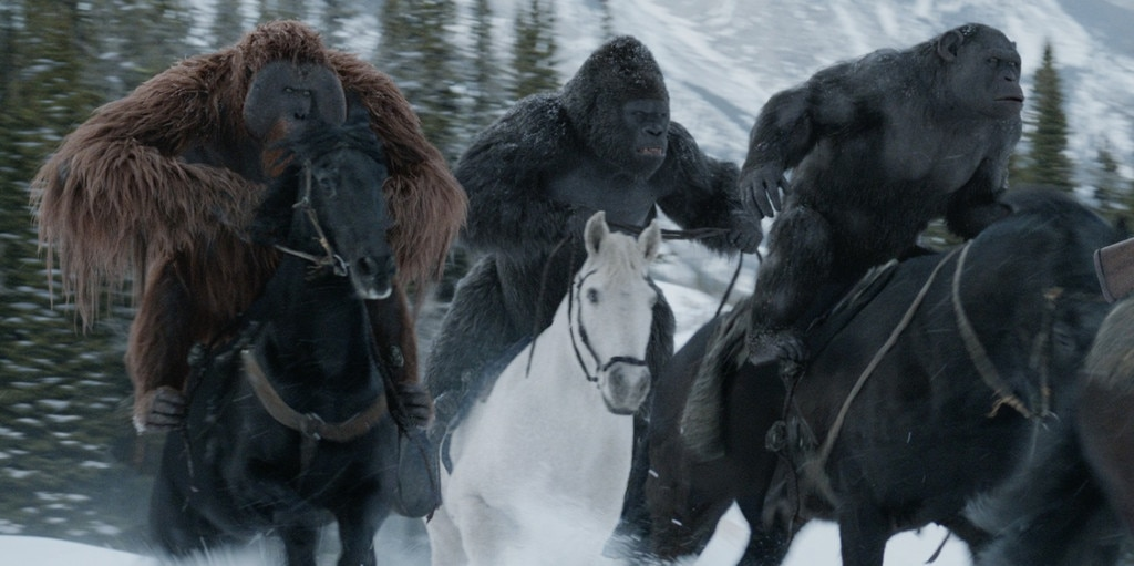 Karin Konoval, Terry Notary, Michael Adamthwaite, War for the Planet of the Apes