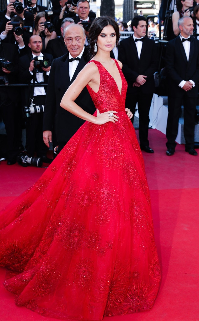 Sara Sampaio From Cannes 2017 Best Dressed Stars E News