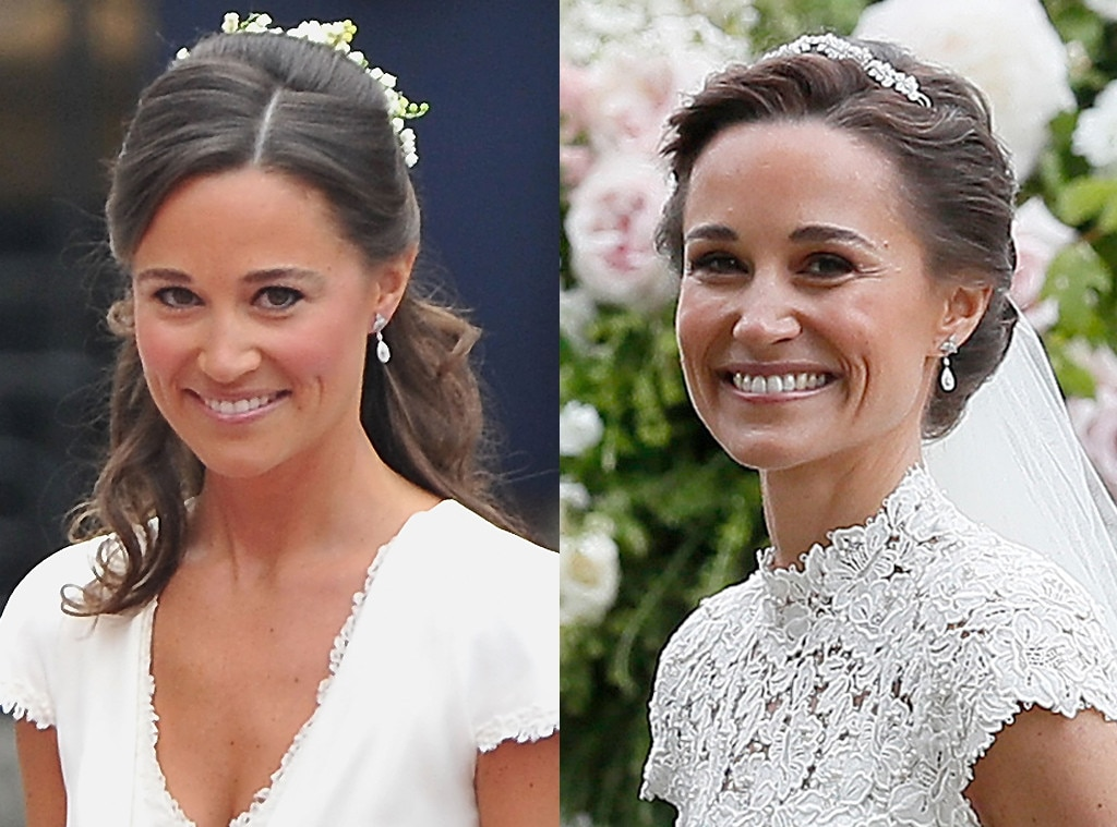Pippa Middleton, Weddings, Earrings