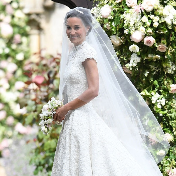 Pippa Middleton's Wedding Dress And Whole Outfit Details