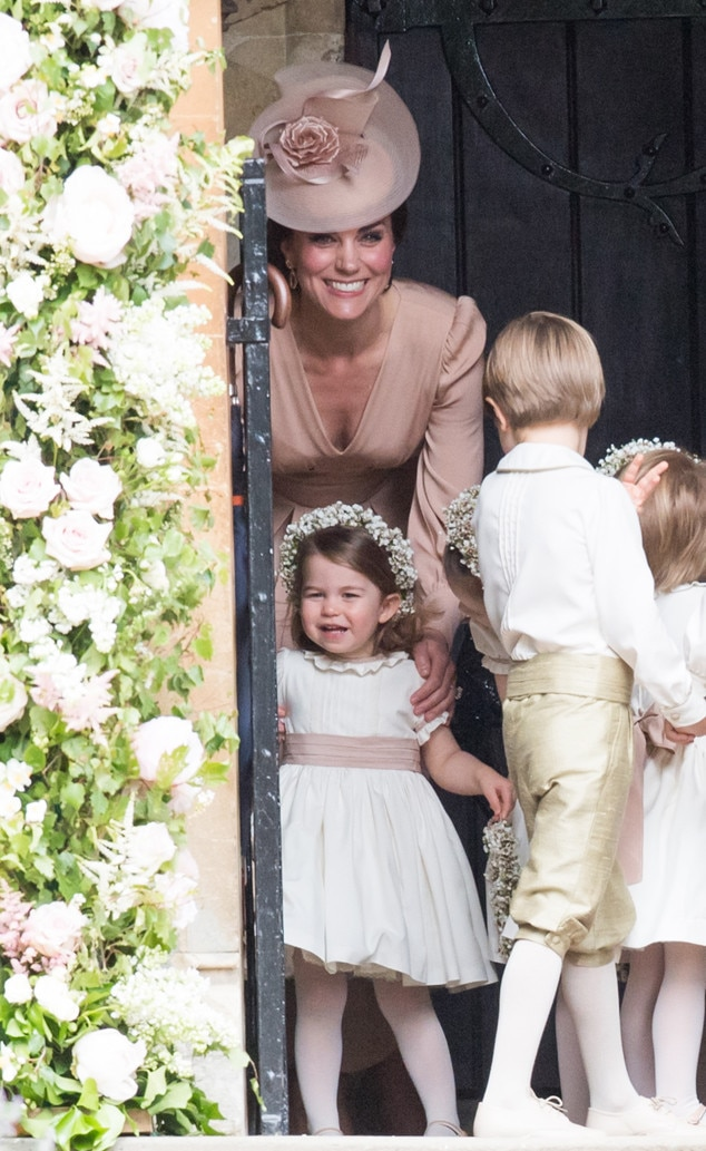 Princess Charlotte, Kate Middleton, Pippa Middleton and James Matthews Wedding