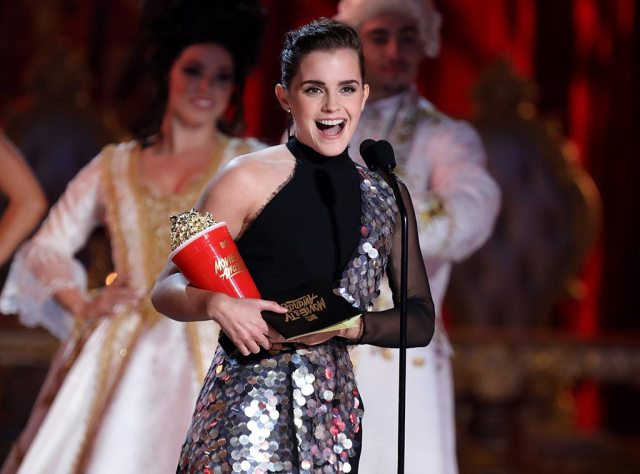 Emma Watson, 2017 MTV film And TV Awards