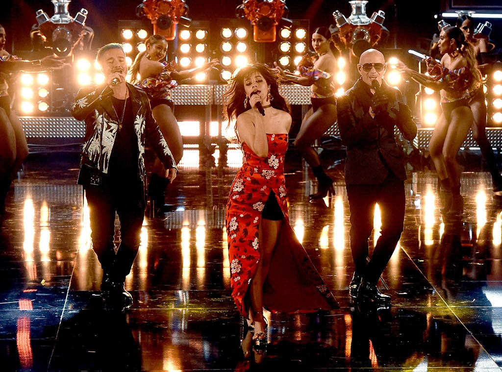J Balvin, Camila Cabello, Pitbull, 2017 MTV Movie and TV Awards