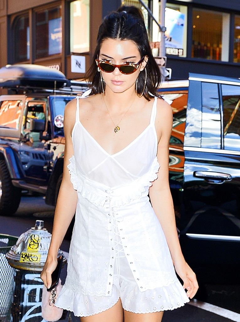Kendall Jenners Earrings Are Larger Than LifeYour Move