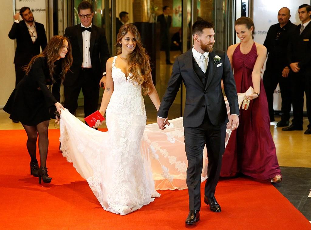 Shakira And Gerard Piqué Attend FC Barcelona Star Leo