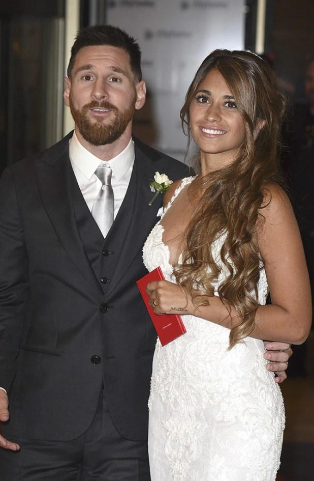 Lionel Messi, Antonela Roccuzzo, Wedding