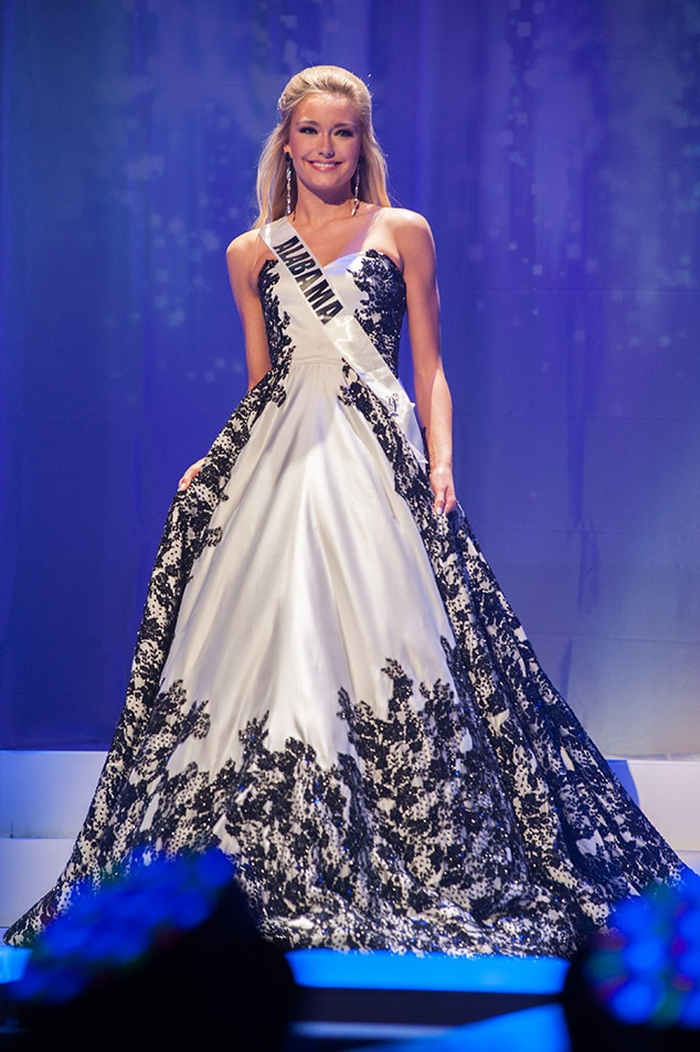 Claire Scott, Miss Alabama Teen USA 2017, Preliminary Competition, Evening Gown
