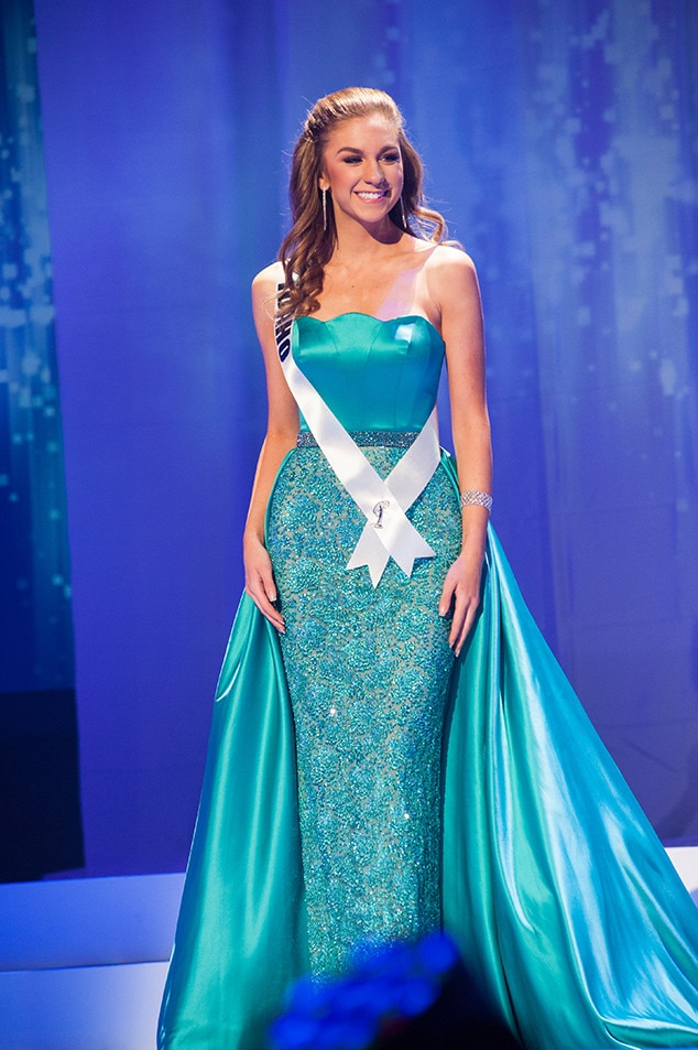 Gabriella Simpson, Miss Idaho Teen USA 2017, Preliminary Competition, Evening Gown