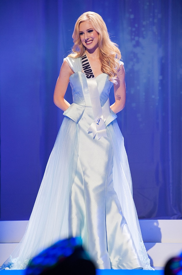 Olivia Bohleber, Miss Illinois Teen USA 2017, Preliminary Competition, Evening Gown