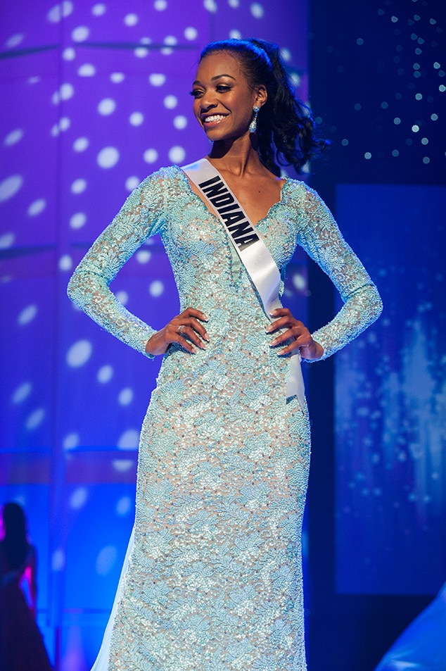 Paige Robinson, Miss Indiana Teen USA 2017, Preliminary Competition, Evening Gown