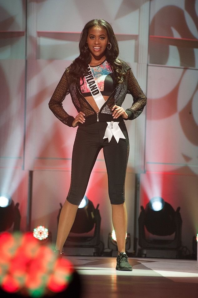 Taylor Spruill, Miss Maryland Teen USA 2017, Preliminary Competition, Athleisure Wear
