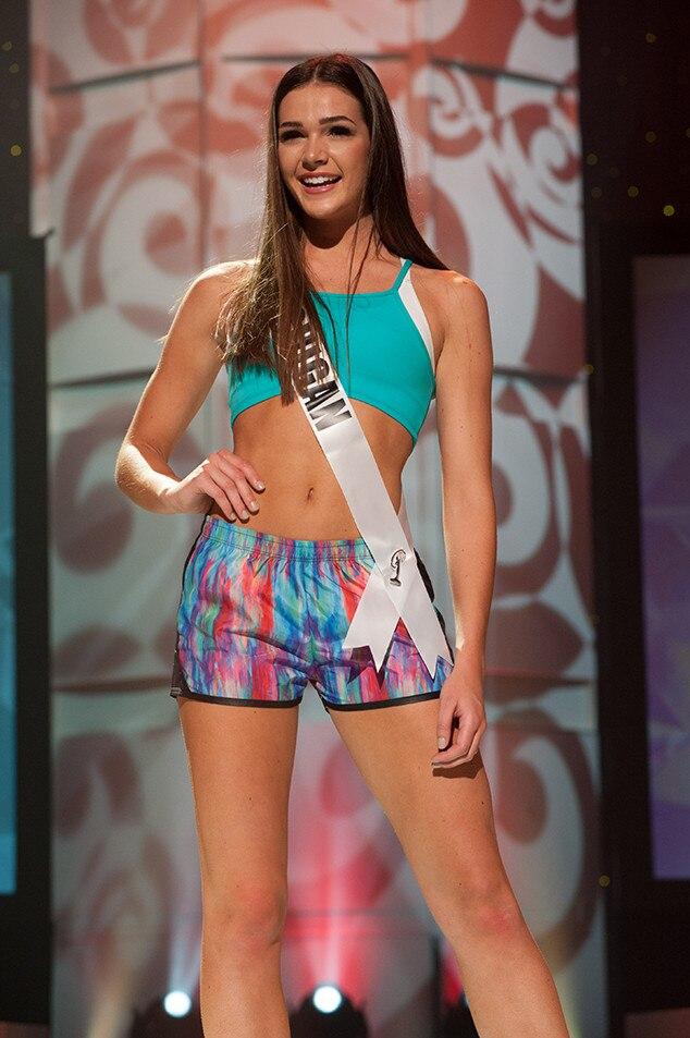 Kenzie Weingartz, Miss Michigan Teen USA 2017, Preliminary Competition, Athleisure Wear