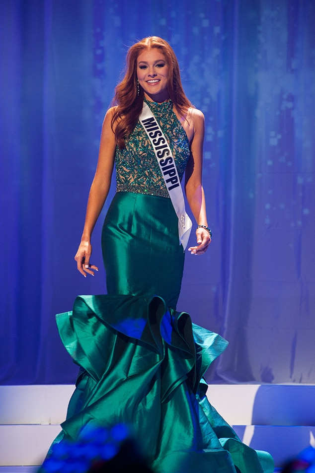 Hannah Chisolm, Miss Mississippi Teen USA 2017, Preliminary Competition, Evening Gown