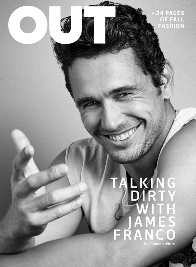 OUT Magazine, James Franco, EMABRGO unitl 08/01/17, 7am EST.