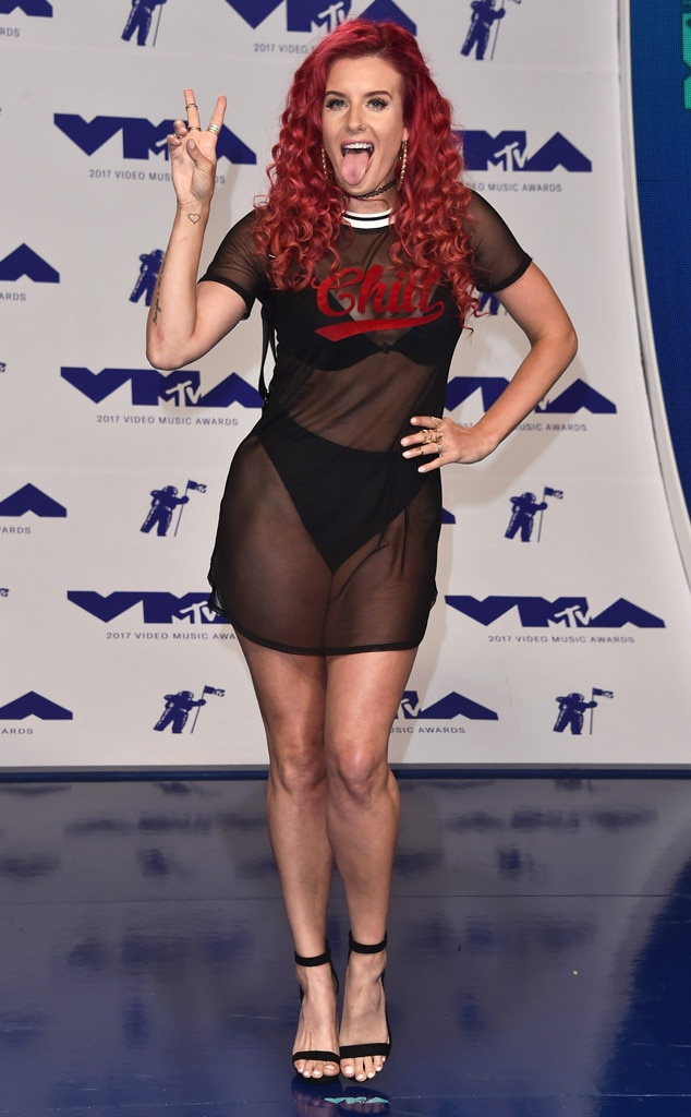 Justina Valentine From MTV Video Music Awards 2017 Red