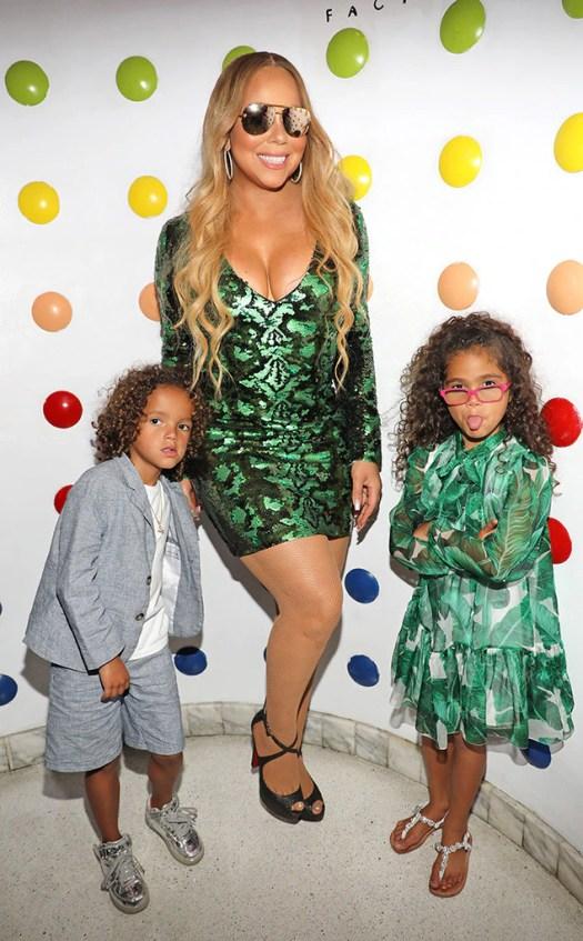 Mariah Carey, Moroccan, Monroe, Celeb kids with unique names