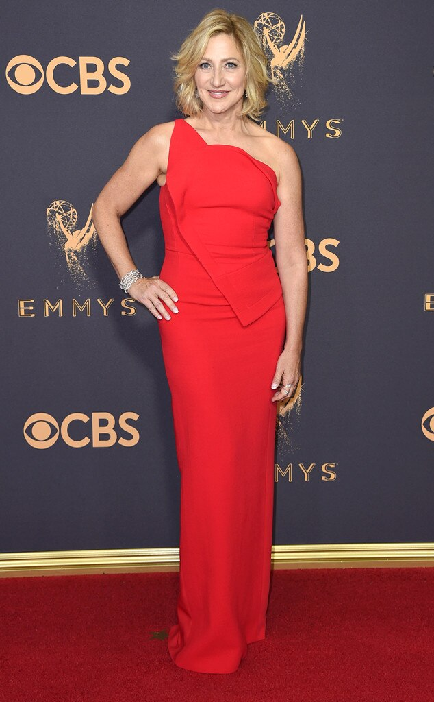 Edie Falco, 2017 Emmy Awards, Arrivals
