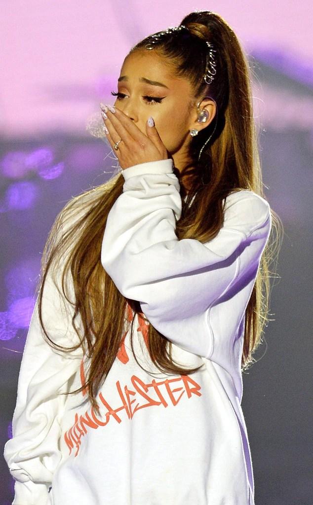 Ariana Grande, Manchester concerto di beneficenza