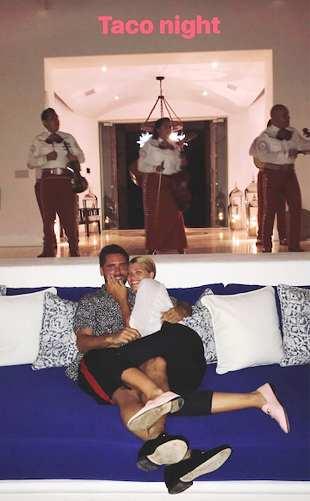 Scott Disick, Sofia Richie, Mexico, Instagram