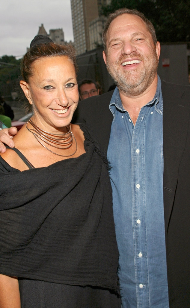 Donna Karan, Harvey Weinstein, 2007