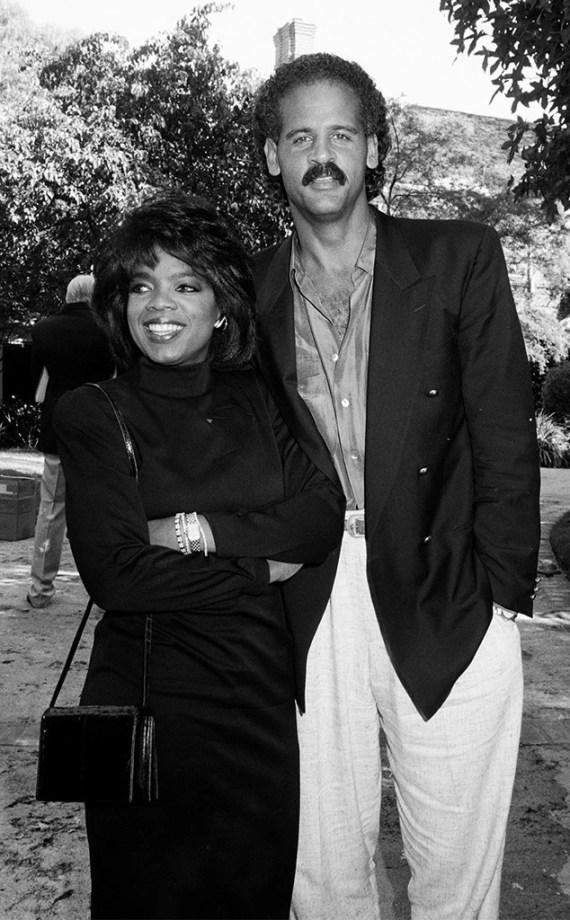 Oprah Winfrey, Stedman Graham, 1989