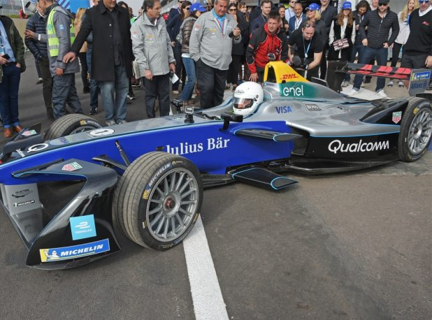 Orlando Bloom, Marrakesh E-Prix, Formula E