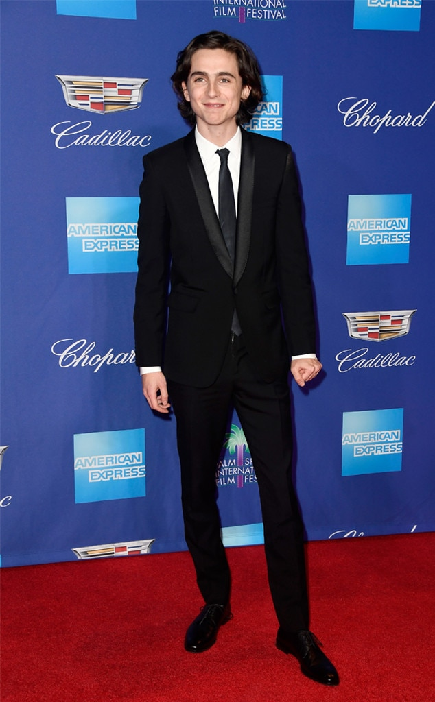 Timothée Chalamet, Palm Springs International Film Festival Awards
