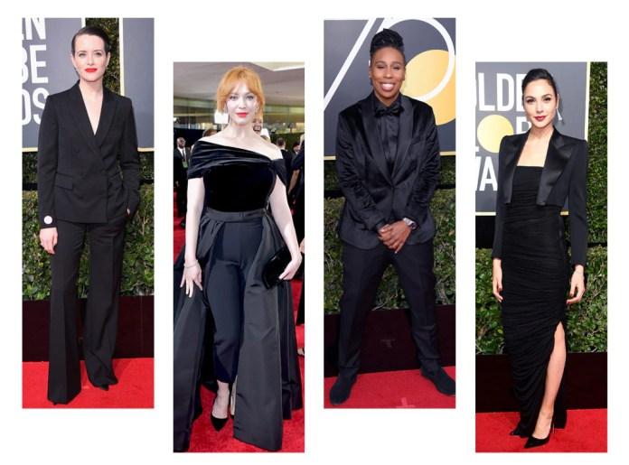 ESC: Golden Globes Trends, Suiting