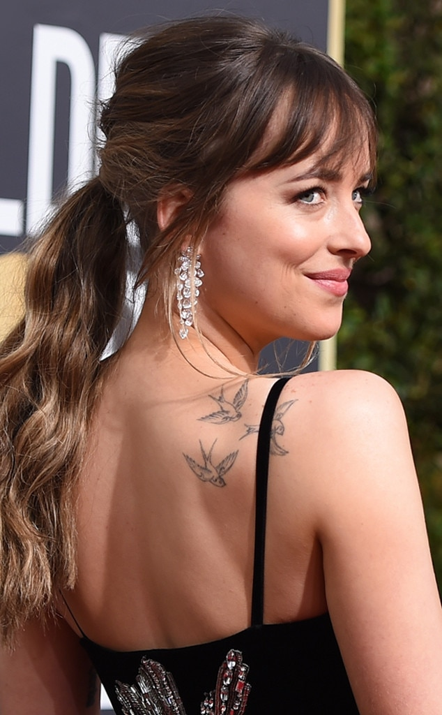 Dakota Johnson From Best Beauty At The 2018 Golden Globes