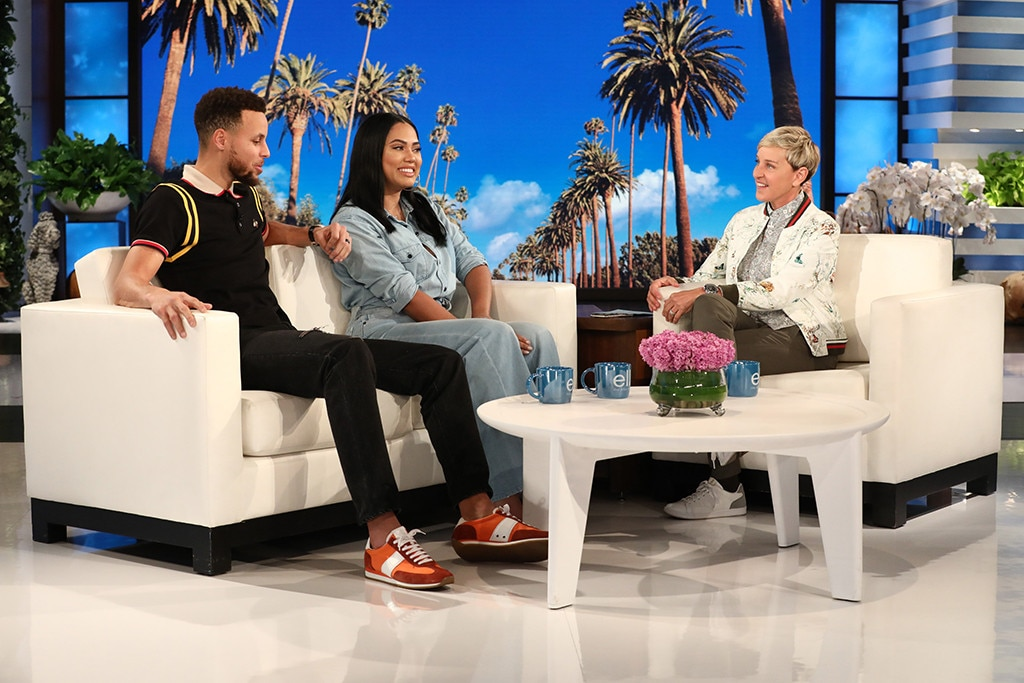 Image result for Stephen Curry and Ayesha Curry's ellen show