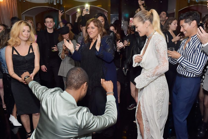 """Резултат со слика за Usher Dances With Julianne Hough and Rita Ora to """"Yeah!"""" at Party"""
