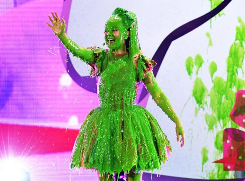 Jojo Siwa, Nickelodeon Kids' Choice Awards 2018, Slimed