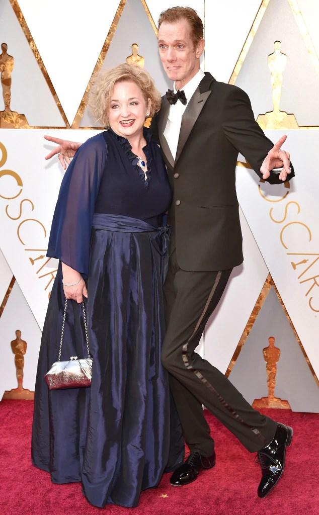 Laurie Jones, Doug Jones, 2018 Oscars, Couples