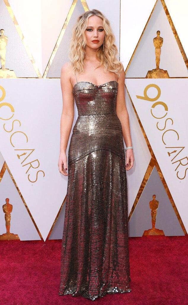 2018 Oscars Red Carpet Fashion Jennifer Lawrence, 2018 Oscars, Red Carpet Fashions