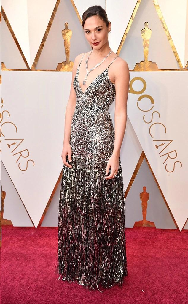 2018 Oscars Red Carpet Fashion Gal Gadot, 2018 Oscars, Red Carpet Fashions